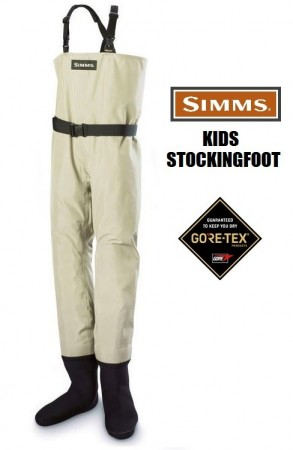 Simms Kids Stockingfoot Gore Tex - Small