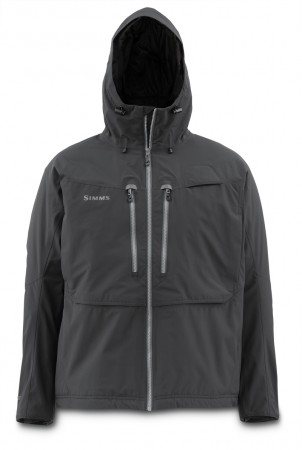 Simms Bulkley Jacket Black - Large