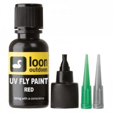 UV Fly Paint Red