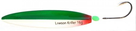 Lawson Kriller 16 g Dark Green Grey