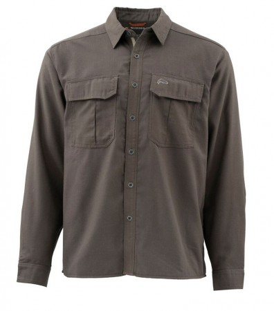 Simms Coldweather Shirt (Dark Olive)
