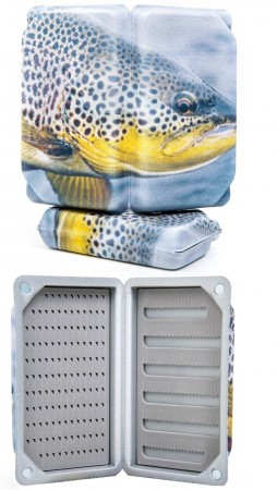 Guideline Trout Slit Foam Fly Box - Large (6)