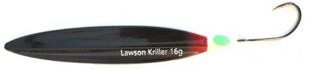 Lawson Kriller 16 g Dark Horse Black Red Butt