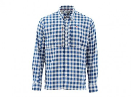 Simms BugStopper Shirt Admiral Blue (medium)