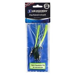 Neon Needlefish Rig Green