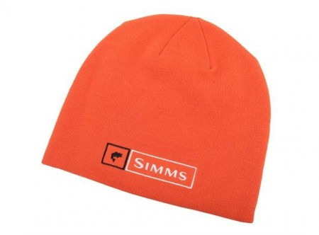 Simms Lockup Beanie Hunter Orange
