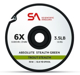 SA Absolute Trout Stealth Tippet