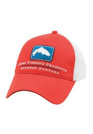 Simms Small Fit Trout Trucker Cap - Red Stone
