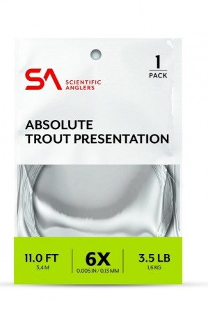 SA Absolute Trout Presentation Leader 11´