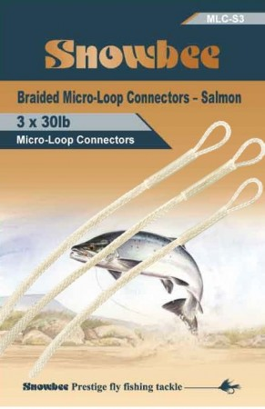 Micro-Loop Salmon 30 Lbs 3 pcs