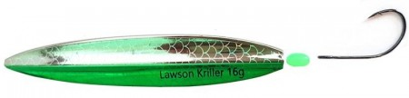 Lawson Kriller 16 g Pearl Dark Green Red Butt