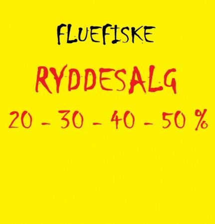 RYDDESALG! (Flue)