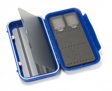 C&F Large 3-Row WP Tube Fly Case w 4 Comp (CF-3404V) Blue