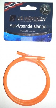 Sølvkroken Selvlysende slange Orange 3 mm (0,5 m)