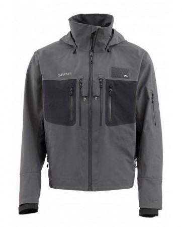 Simms G3 Guide Tactical Jacket Carbon